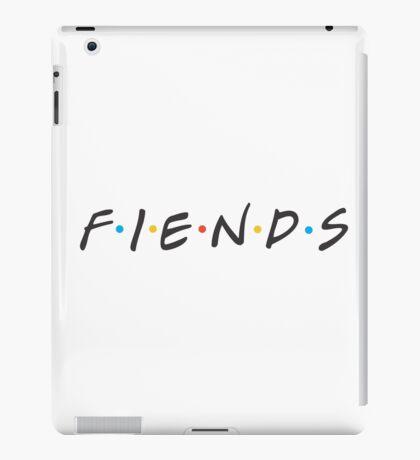 """Friends """"Fiends"""" Parody iPad Case/Skin"""