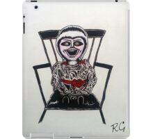 Creepy Annabelle Doll iPad Case/Skin
