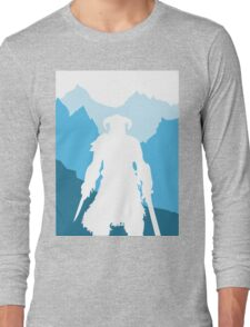 Dragonborn -  Blue Long Sleeve T-Shirt
