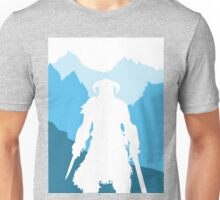 Dragonborn -  Blue Unisex T-Shirt