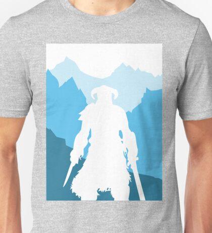 Dragonborn -  Blue Unisex T-Shirt