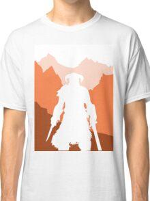 Dragonborn - Orange Classic T-Shirt