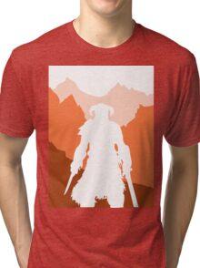 Dragonborn - Orange Tri-blend T-Shirt