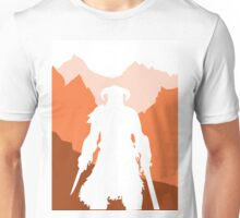 Dragonborn - Orange Unisex T-Shirt