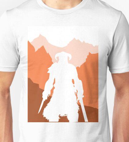 Dragonborn - Orange Unisex T-Shirt