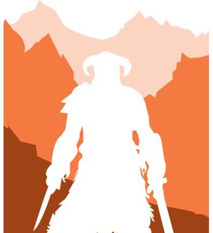 Dragonborn - Orange Sticker