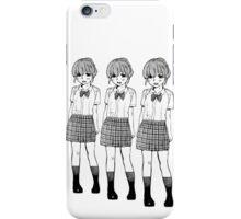 Manga Girls (White) iPhone Case/Skin