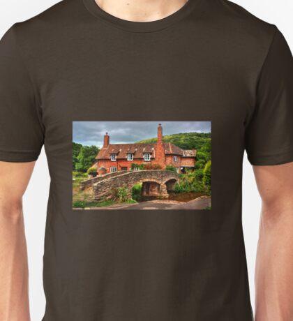 Pack horse Bridge of Allerford Unisex T-Shirt