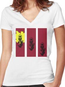 Bebop Women's Fitted V-Neck T-Shirt