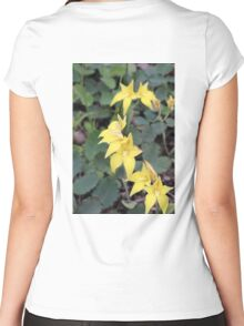 Tall Cowslips Women's Fitted Scoop T-Shirt