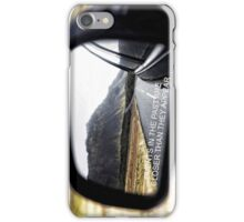 Events in the past are closer than they appear iPhone Case/Skin