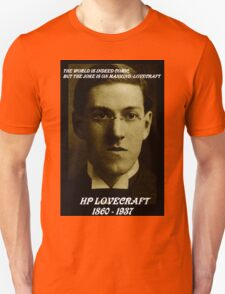 HP LOVECRAFT IN  MEMORY Unisex T-Shirt
