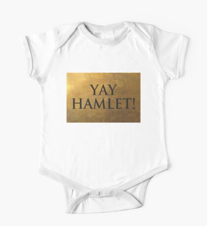 Yay Hamlet! One Piece - Short Sleeve