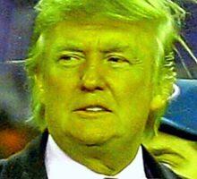 Donald Grinch Trump Sticker