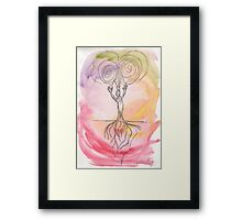 Connection (Spirit and Earth) Framed Print