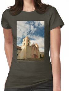 Santa Barbara Mission Womens Fitted T-Shirt