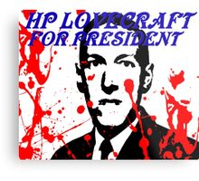HP LOVECRAFT FOR PRESIDENT Metal Print