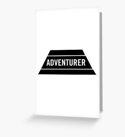 Adventurer Greeting Card