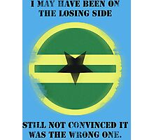 Losing Side - Browncoats Photographic Print