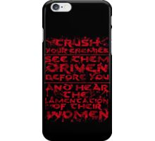 Conan Blood Quote iPhone Case/Skin