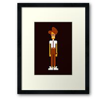 Moss Sprite - The IT Crowd Framed Print