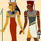 Mut and Amun go forth by Aakheperure