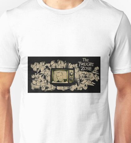 The Twilight Zone Collectable Art Unisex T-Shirt