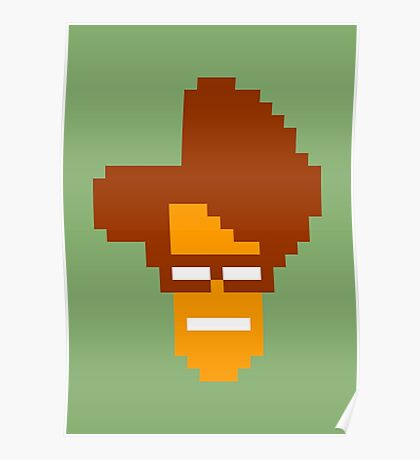 Moss' Head Sprite - The IT Crowd Poster
