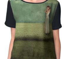 Inward Conversation Chiffon Top