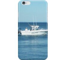 A large boat on its way out to sea for some fishing- Werribee Sth. iPhone Case/Skin