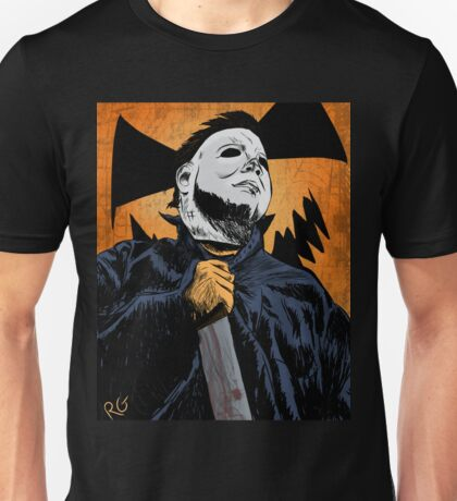 Masked Murderer Halloween Unisex T-Shirt