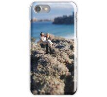 Beach Wedding Miniatures iPhone Case/Skin