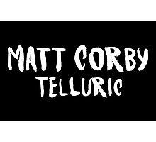 matt corby telluric Photographic Print