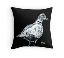 Winter Dove Throw Pillow