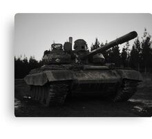 T55AM2 Tank Canvas Print