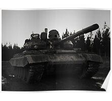 T55AM2 Tank Poster