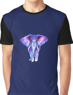 The Unforgettable Elephant Graphic T-Shirt