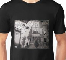 Creepy psycho Inspired Drawing Unisex T-Shirt