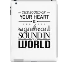 Twilight Cullen The Sound of Your Heart iPad Case/Skin