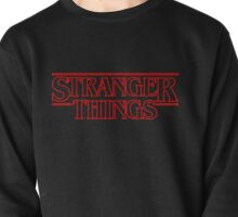 Stranger Things - red Pullover