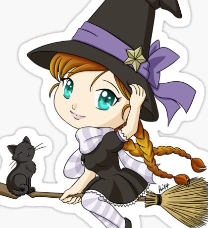 Chibi Witch Sticker