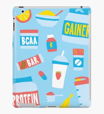 Sport food nutrition iPad Case/Skin
