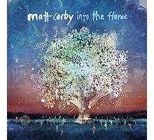 matt corby in to the flame Photographic Print