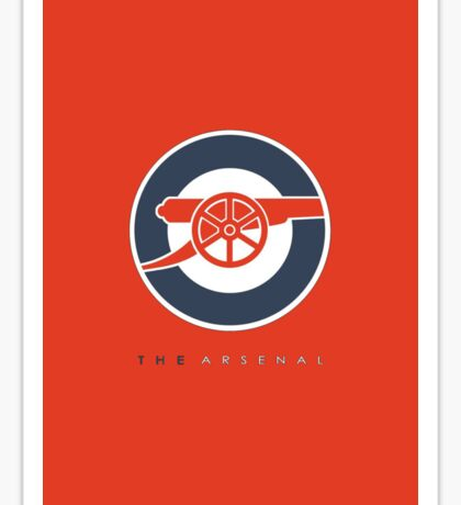 The Arsenal Sticker