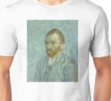 Vincent Van Gogh Self Portrait 1889 Unisex T-Shirt
