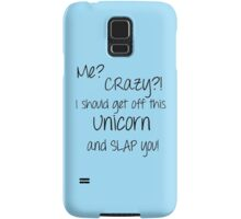 Unicorn Slap Samsung Galaxy Case/Skin