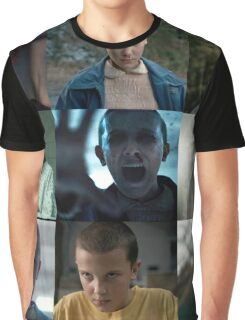 Eleven- Stranger Things Graphic T-Shirt