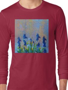 ORCHIDS AND LILIES Long Sleeve T-Shirt