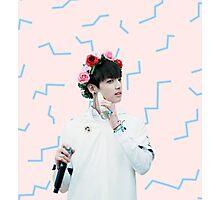 Jungkook - Pastel Photographic Print