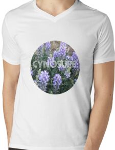 Cynosure: A Focal Point of Admiration Flower Photography Mens V-Neck T-Shirt